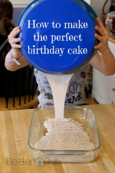 How to Make the Perfect Birthday Cake {sinfully delicious buttercream frosting recipe}