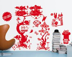 Domestic - wall stickers