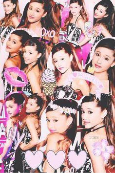Ariana Grande EMA Collage | We Heart It