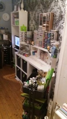 Right side of my craftroom at Daisy d's