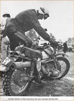 ISDE Vintage BMW bikes - ricardo kuhn (patineto)