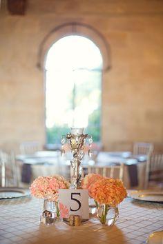 Vintage Peach and White Florida Wedding, photo by Vitalic Photo