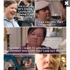 Oh, Melissa McCarthy! You are a riot!!!! :)