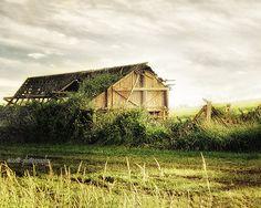 8x10 Rustic Barn Print  Dreamy Photography by MScottPhotography #rusticbarn