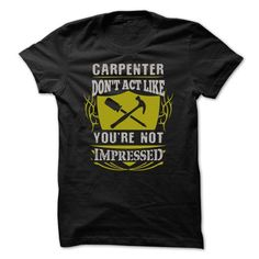 Awesome Carpenter Shirt - #gift sorprise #love gift. WANT => https://www.sunfrog.com/Funny/Awesome-Carpenter-Shirt-31058994-Guys.html?68278