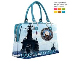 "Upload images to design themed bags ""I Love U.S. Navy"", and share sailor's glory"