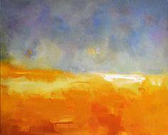 Storm  Original abstract landscape painting by PrismaticArt, $90.00