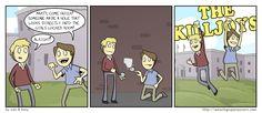 The Killjoys - Girls locker room  (funny, humour, humorous, hilarious, LOL, hahaha, comic strip)