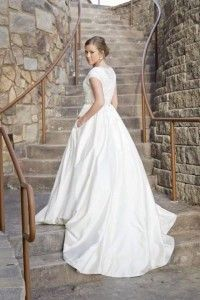 Sweetheart Bridal- Lauren in silk and lace ballgown