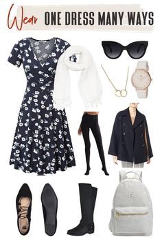 Dresses are multi-purpose making them the perfect staple in your travel wardrobe. Find out how to turn any one of your dresses into versatile dresses! #TravelFashionGirl #TravelFashion #TravelOutfits #capsulewardrobe #versatiledress #howtowear Travel Wardrobe, Capsule Wardrobe, Travel Style, Travel Fashion, Travel Dress, Dress First, Corporate Dresses, Traveling By Yourself, Cute Outfits