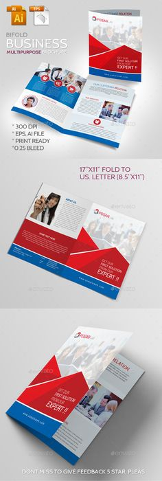 Business Brochure Template Vector EPS, Vector AI. Download here: http://graphicriver.net/item/business-brochure/11433288?s_rank=1735&ref=yinkira