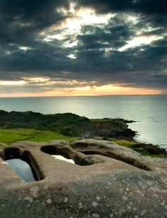 Open Viking graves at Heysham in Lancashire, England. I would love to go explore all the history! Places Around The World, Around The Worlds, Prince, England And Scotland, British Isles, Great Britain, Britain Uk, Ciel, Places To See