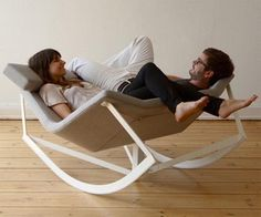 3rd space: Creating comfortable environment - Rocking Chair Design Ideas unique and romantic   the Markus Krauss