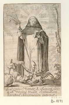 Saint Dominic, our Order's founder.