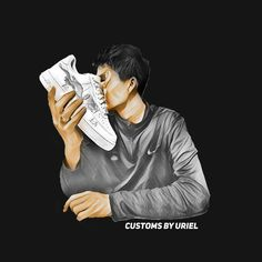 customsbyuriel's Artist Profile Picture Lv Shoes, Nike Air Shoes, Shoes Heels, Sneakers Nike, Jordan 1 Red, Dolls Kill Shoes, Japanese Drawings, Fall Booties, Japanese Dragon