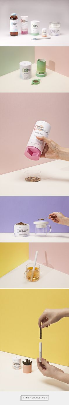 Teavana - student concept tea #packaging designed by Melia Tandiono