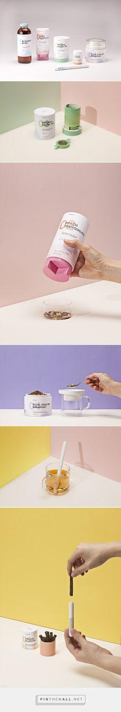 Teavana - student concept tea #packaging designed by Melia Tandiono