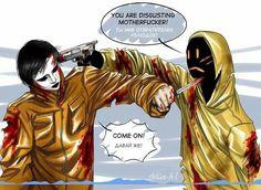 Masky & Hoodie