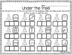 Under the Tree! CVC words