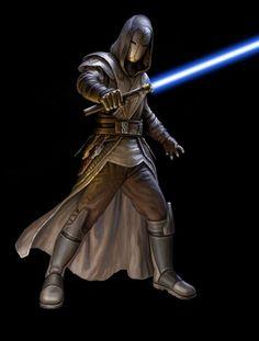 A Jedi temple guard.