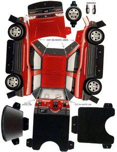 2-Door Toyota Rav4 Paper Model