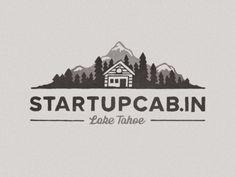 Inspiration Brand, Design Inspiration, Branding Logotype, Artwork Design, Cabin Logo Design, Identity Inspiration, Graphics Design, Startups Cabin, ...