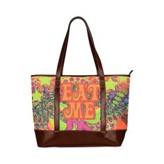 EATMEBLOTTER USHROOM PRINT (898x902) Custom Tote Bag 11 (Two Sides)