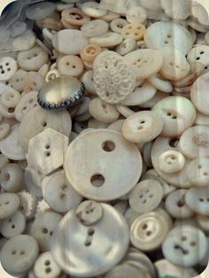 Mother of Pearl Buttons...