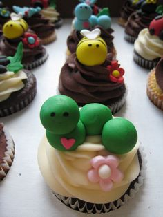Image detail for -Bug Cakes