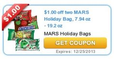 *HOT* 2 FREE Large Bags of Holiday M&M'S! - Raining Hot Coupons