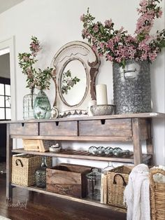 Modern French Country Dining Room Table Decoration Ideas 13