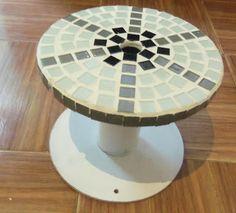 Cafofo bacana: Mesa mosaico
