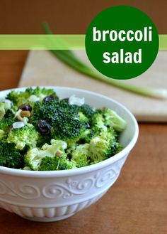 Broccoli Salad | Real Food Real Deals #healthy #recipe