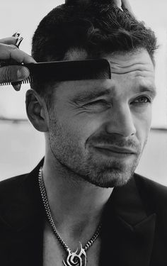 Sebastian Stan, Steel Blue Eyes, Marvels Agents Of Shield, Bad Boy Aesthetic, Man Crush Monday, Chris Evans Captain America, Man Thing Marvel, White Wolf, Daddy Issues
