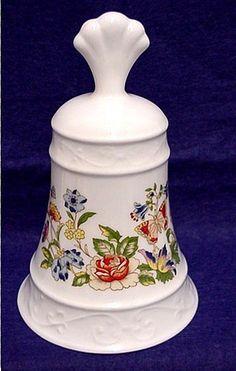 Porcelain Dinner Bell Ansley China