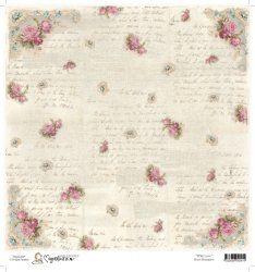 """Magnolia Rose Romance 12"""" x 12"""" Paper"""