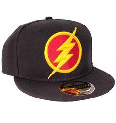 Casquette The Flash Officielle DC Comics - Logo Logo 3d, Dc Comics, The Flash, Cap, Licence, Officiel, Shopping, Collection, Sadie
