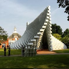 We're broadcasting live from BIG's Serpentine Gallery Pavilion on Facebook.