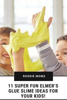 11 Super Fun Elmer's Glue Slime Ideas for your kids! Source by rookiemoms Outdoor Activities For Toddlers, Educational Activities For Kids, Preschool Activities, Slime No Glue, Elmer's Glue, Slime Recipe, Parenting Hacks, Parenting Toddlers, Business For Kids