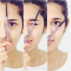 Wondering how to get your brow game right? Follow these simple angles before shaping them - start, arch and end. Read more about eyebrow grooming on our BeautyBook #EyebrowsOnFleek #BrowGame #BrowGameStrong #WhatNykaaTaughtYou #BeautyBasics #Beauty101