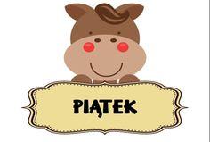 5-piatek Polish Language, German Grammar, Winnie The Pooh, Illustrators, Diy And Crafts, Minnie Mouse, Kindergarten, Disney Characters, Fictional Characters