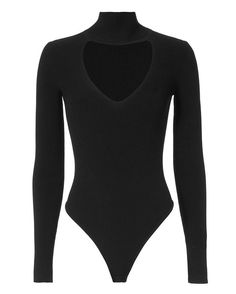 CUSHNIE ET OCHS Turtleneck Black Bodysuit.  cushnieetochs  cloth  bodysuit 2f2222674