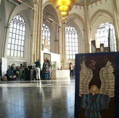 Mosaic angel at Eusebiuscurch Arnhem