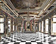 Royal Palace of Stockholm in Sweden