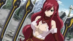Focus On The Positive — Ataraxia Armor Erza Scarlet Fairy Tail Cana, Fairy Tail Funny, Fairy Tail Girls, Fairy Tail Ships, Fairy Tail Anime, Erza Scarlet Armor, Fairy Tail Erza Scarlet, Anime Couples Manga, Cute Anime Couples