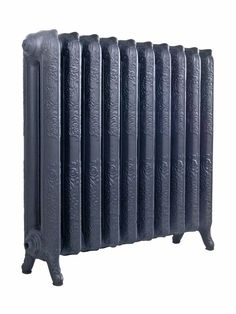 Cast Iron Radiators - Traditional - 2 Column - Tall Ascot Style - 768mm 10 Sections - Ornate