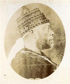 Other images were captured of the upper echelons of Ethiopian society,    including this of Emperor Menelik II.