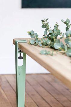 Pied de table modulable pour Table et Bureau - 75cm - Serre-joint TIPTOE