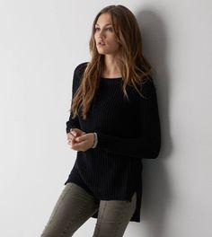 Black AEO Jegging Sweater