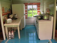 A Vintage Dollhouse Kitchen